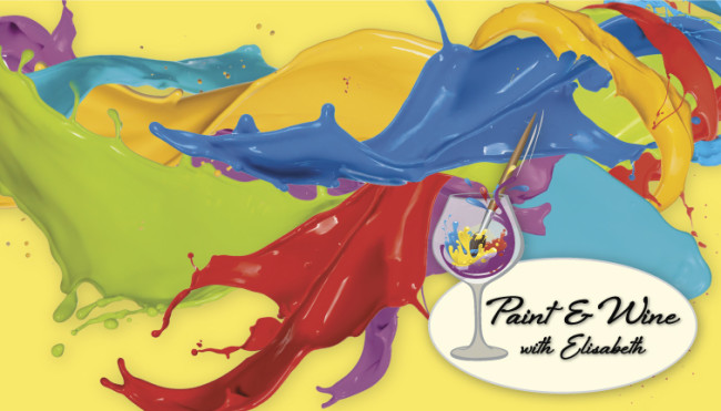 Paint and Wine with Elisabeth